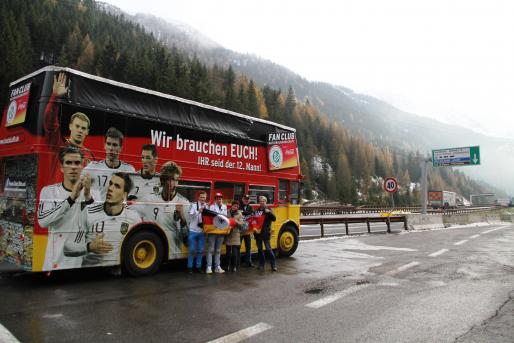 Fan Club Nationalmannschaft-Mailand-Tour