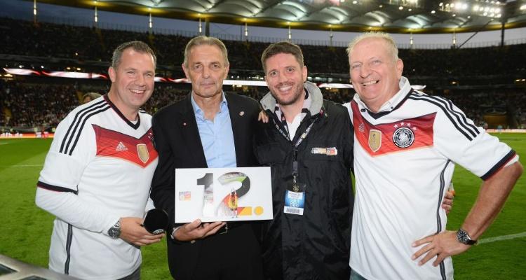 Charly Körbel ist neues Prominentes Mitglied im Fan Club Nationalmannschaft.