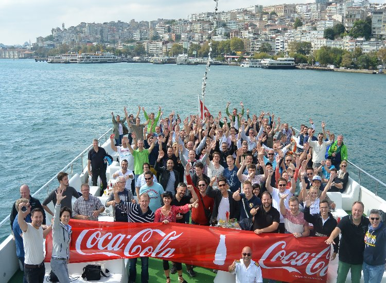 W-com Incentive Coca-Cola Istanbul.