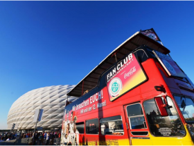 Fan Club-Aktivitäten zum Länderspiel Deutschland – Österreich