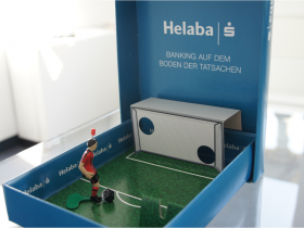"""W-com setzt """"Sponsor of the Day"""" für den Kunden Helaba um."""