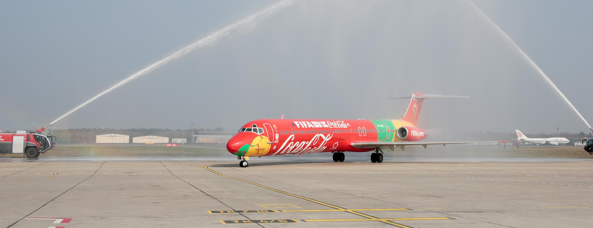 W-com aktiviert FIFA World Cup Trophy Tour by Coca-Cola in Deutschland