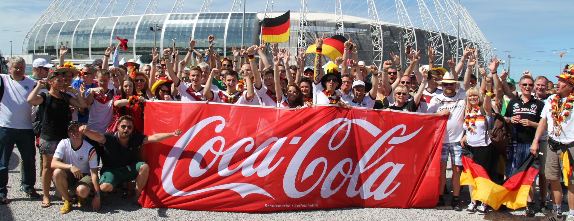 W-com organisiert Gewinnerreisen zur FIFA Fußball-Weltmeisterschaft™ in Brasilien