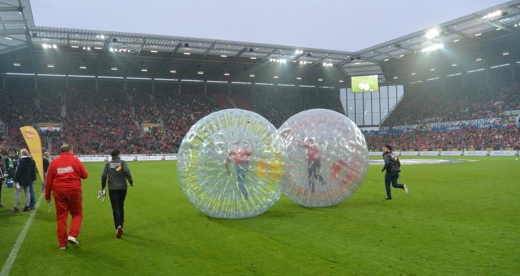 Agentur W-com organisiert Sponsor of the Day für ENTEGA bei Mainz 05