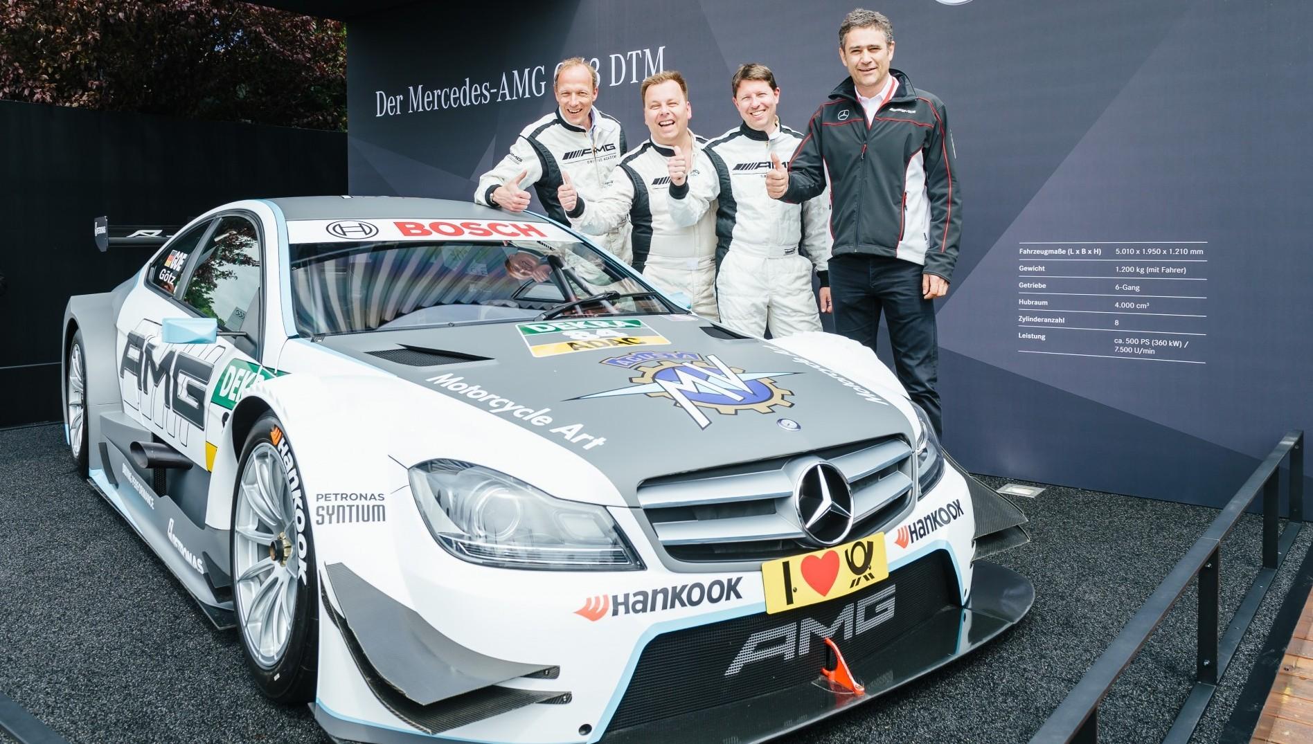 Mercedes-Benz Deutschland: Mit W-com Motorsport hautnah!