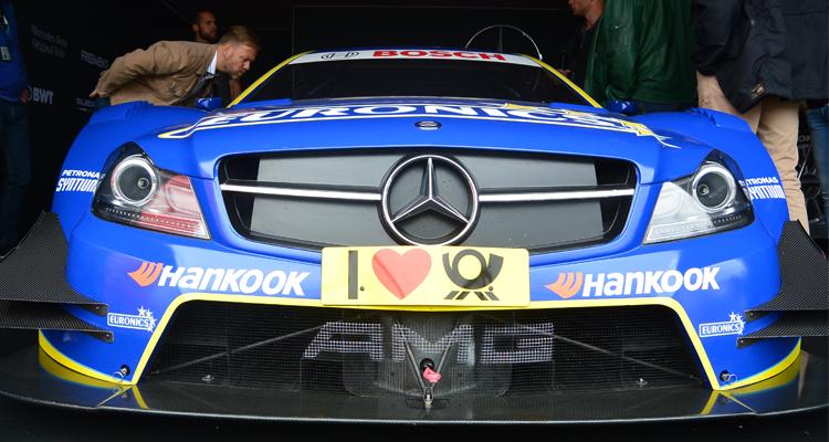 Mercedes-Benz Drehscheibe: Mit W-com nach Zandvoort zur DTM