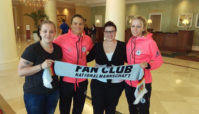 Sportmarketingagentur W-com organisiert eine Woche Orlando für Fan-tastic Moment Gewinner.