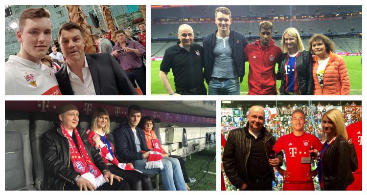 W-com begleitet für Coca-Cola ein Meet & Greet mit Kingsley Coman beim FC Bayern München