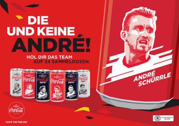Agentur W-com verantwortet Sportmarketing-Bereich für Coca-Cola Kampagne zur Fußball-Europameisterschaft 2016