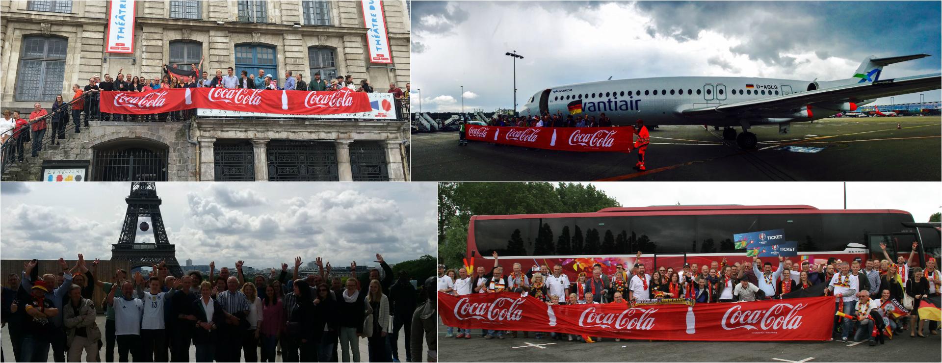 Agentur W-com organisiert einmalige Reisen zur UEFA EURO 2016™ nach Frankreich