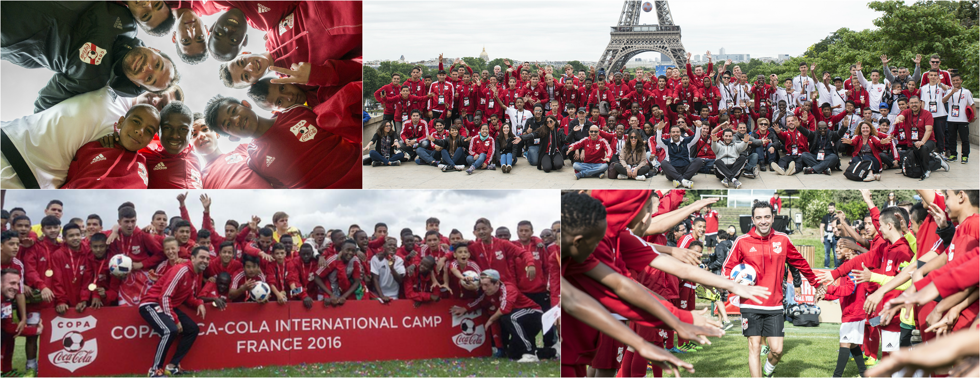 Xavi meets Copa – W-com beim Copa Coca-Cola International Camp 2016