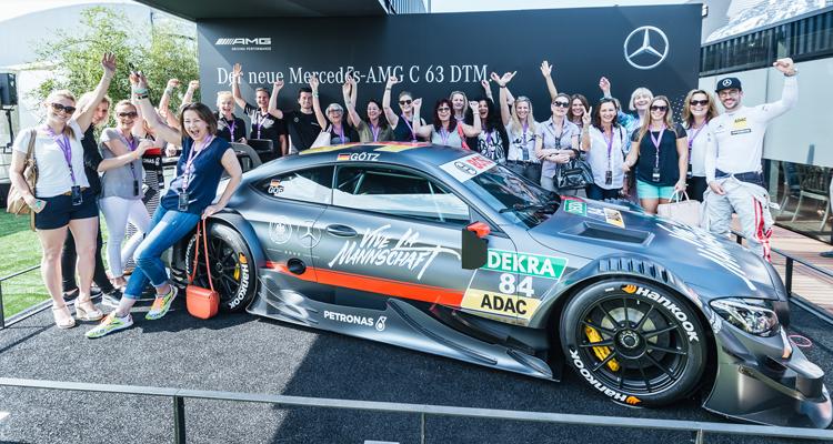 Ladies-Wochenende am Norisring mit Mercedes-Benz und W-com