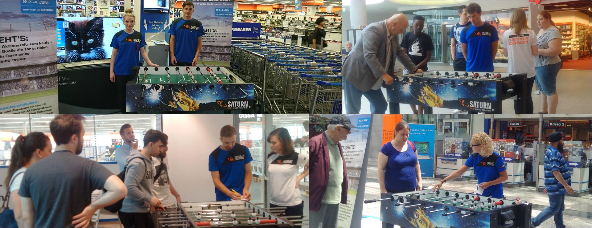 Sportmarketing-Agentur W-com organisiert für Saturn landesweite Instore Promotion