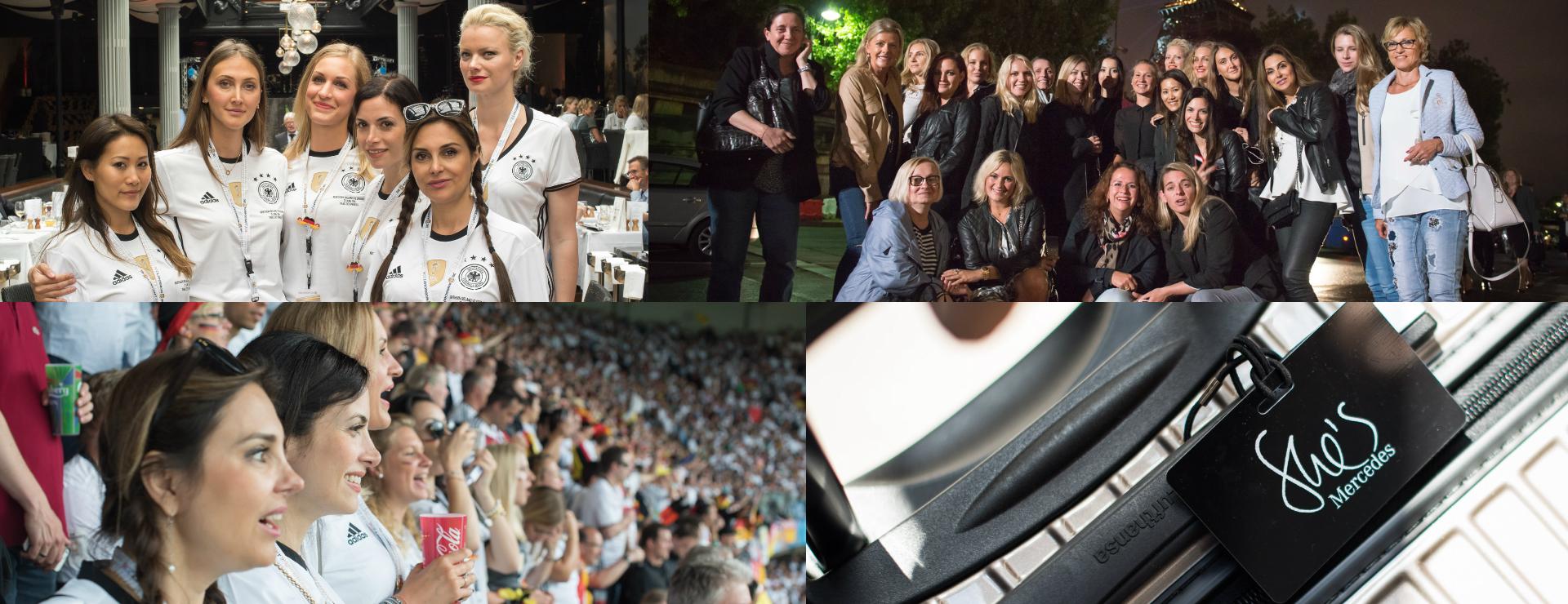 Mit Mercedes-Benz und W-com zur UEFA EURO 2016™ in Frankreich
