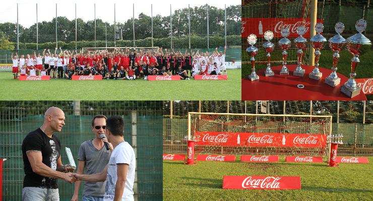 Champions meet Champions III: Agentur W-com organisiert den Coke Cup 2016