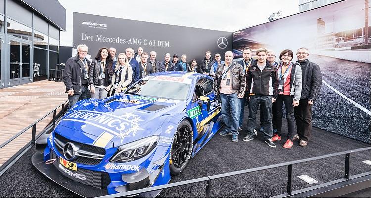 DTM-Saisonabschluss mit Mercedes-Benz und W-com