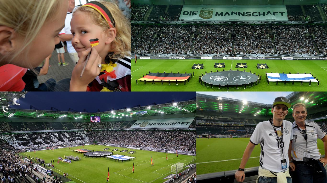 W-com zeigt Sportmarketing-Expertise für Fan Club Nationalmannschaft beim Länderspiel gegen Finnland in Mönchengladbach