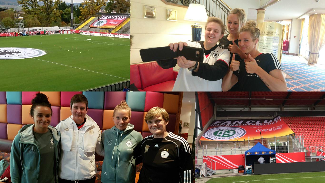 Sportmarketing-Agentur W-com mit dem Fan Club Nationalmannschaft in Regensburg und Aalen