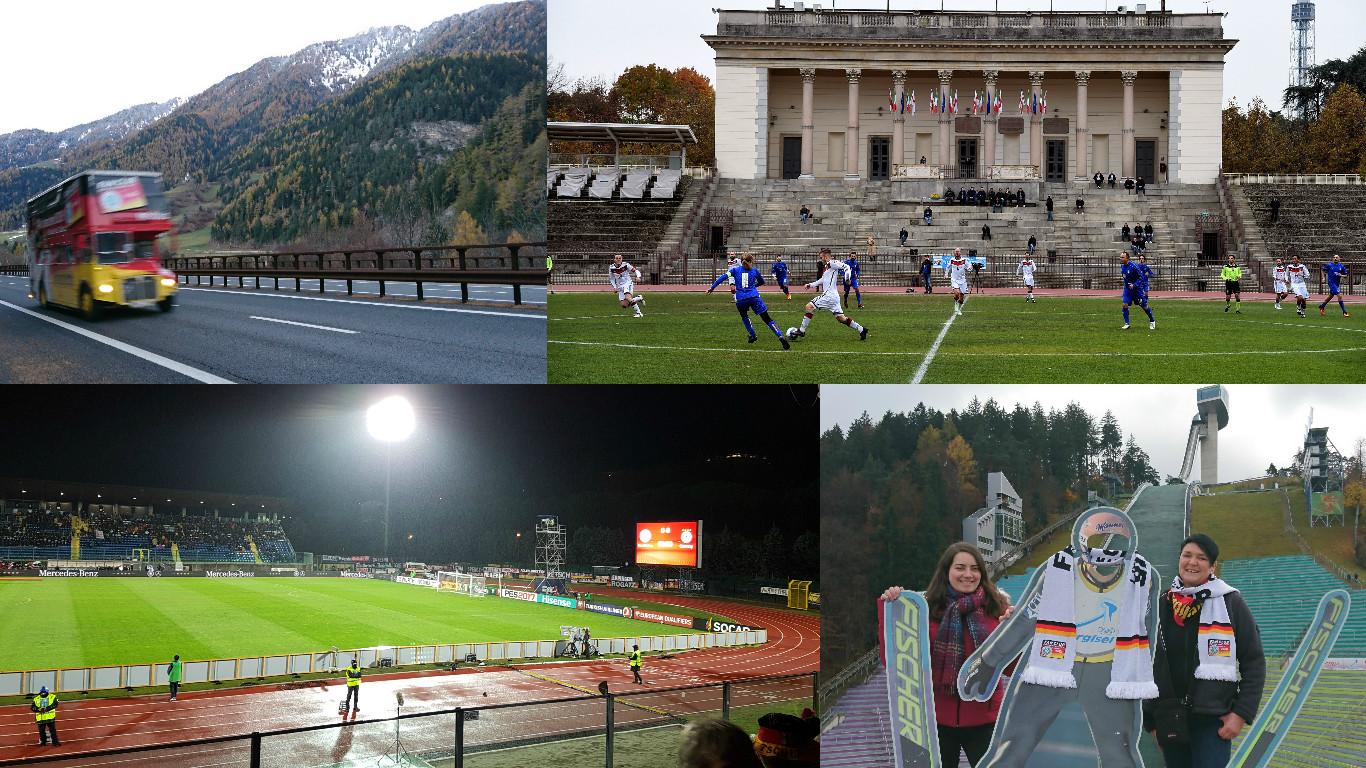 W-com auf Reisen: San Marino und Road to Mailand
